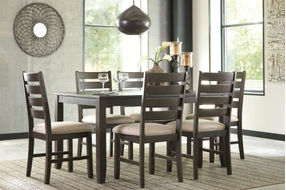 Signature Design by Ashley Rokane 7-Piece Dining Set- Room View