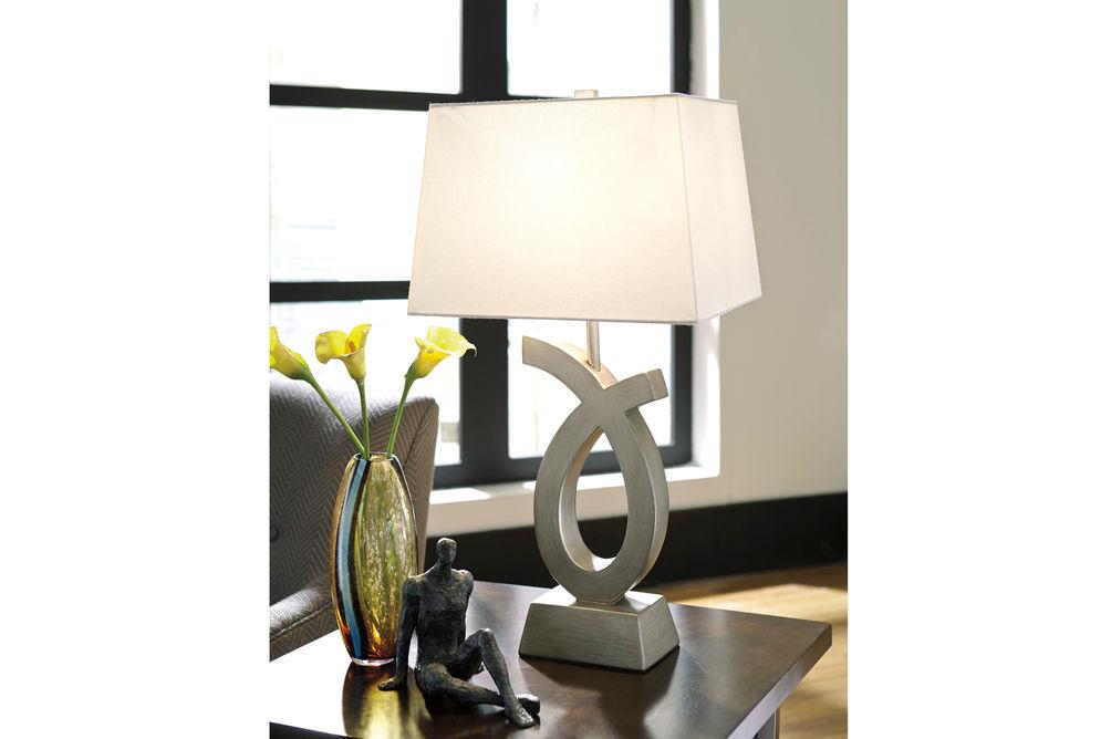 Signature Design by Ashley Amayeta Lamp Set- Room View
