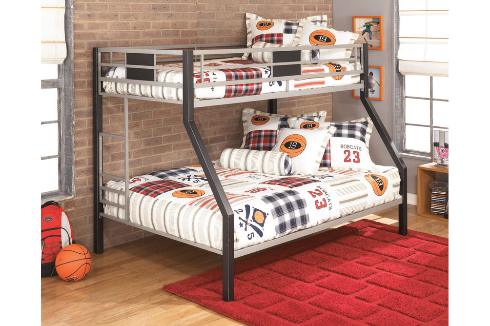Signature Design by Ashley Dinsmore Twin Over Full Bunk Bed Set- Room View