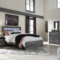 Signature Design by Ashley Baystorm 7-Piece Queen Bedroom Set- Room View