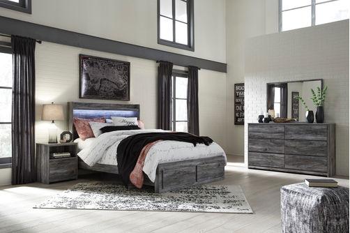 Signature Design by Ashley Baystorm 7-Piece Queen Bedroom Set- Room View