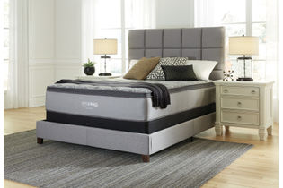 Signature Design by Ashley Augusta Euro Top Queen Mattress- Room View