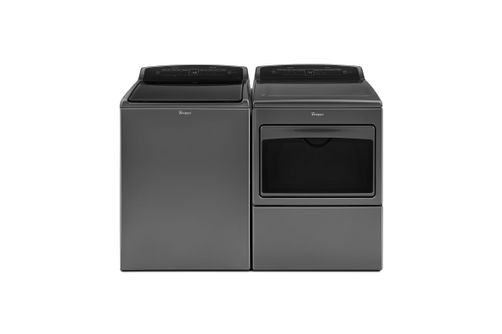 Whirlpool 4.8 Cu. Ft. Top Load Washer and 7.4 Cu. Ft. Electric Dryer