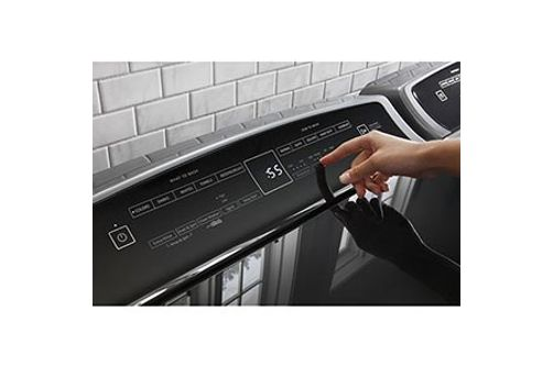 Whirlpool 4.8 Cu. Ft. Top Load Washer and 7.4 Cu. Ft. Electric Dryer- Touch Controls