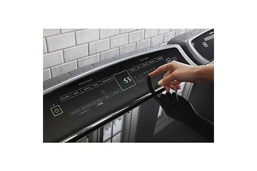 Whirlpool 4.8 Cu. Ft. and 7.4 Cu. Ft. Gas Dryer- Touch Controls