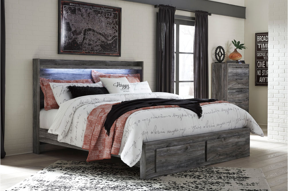 Signature Design by Ashley Baystorm Platform King Bed- Room View