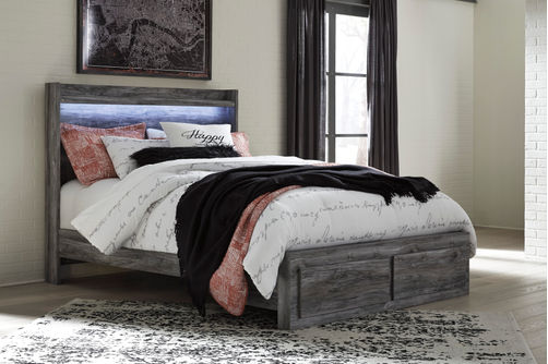 Signature Design by Ashley Baystorm Platform Queen Bed- Room View
