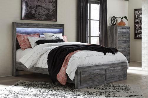 Signature Design by Ashley Baystorm 3-Piece Platform Queen Bedroom Set- Room View