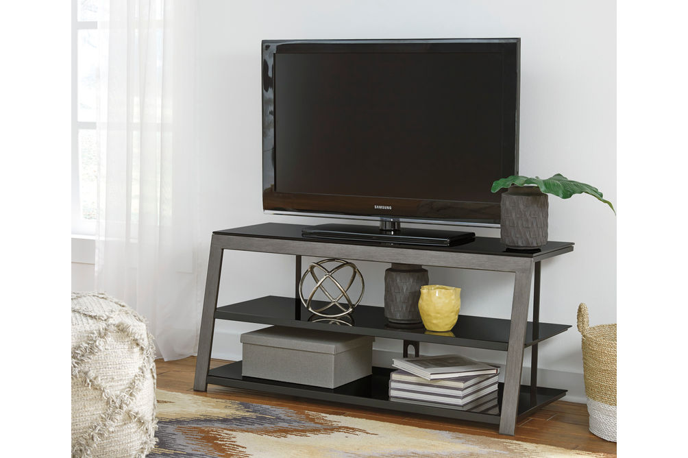 Signature Design by Ashley Rollynx 48 Inch TV Stand- Room View