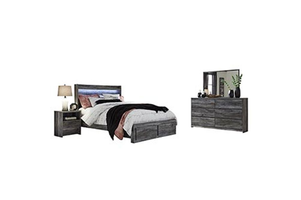 Signature Design by Ashley Baystorm 7-Piece King Bedroom Set