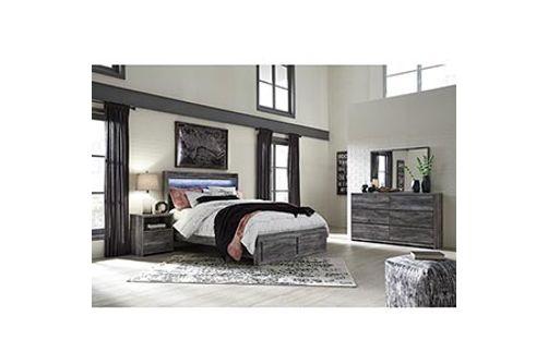 Rent Signature Design By Ashley Baystorm 7 Piece King Bedroom Set
