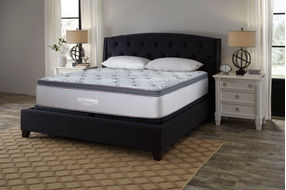 Signature Design by Ashley Augusta Euro Top King Mattress- Room View