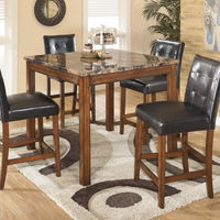 Signature Design by Ashley Theo 5-Piece Dining Set- Room View