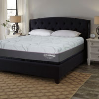 Signature Design by Ashley Palisades Gel Memory Foam King Mattress- Room View
