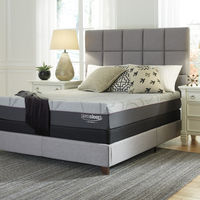 Signature Design by Ashley Palisades Gel Memory Foam Queen Mattress- Room View