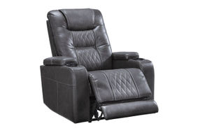 Signature Design by Ashley Composer-Gray Power Recliner
