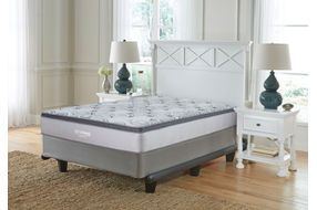 Signature Design by Ashley Augusta Euro Top Full Mattress- Room View