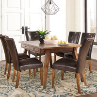 Signature Design by Ashley Centiar 7-Piece Dining Set- Room View