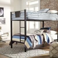 Signature Design by Ashley Dinsmore Twin over Twin Bunk Bed- Room View