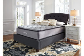 Ashley Sierra Sleep Curacao Pillow Top Queen Mattress- Room View