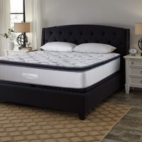 Ashley Sierra Sleep Curacao Pillow Top King Mattress- Room View