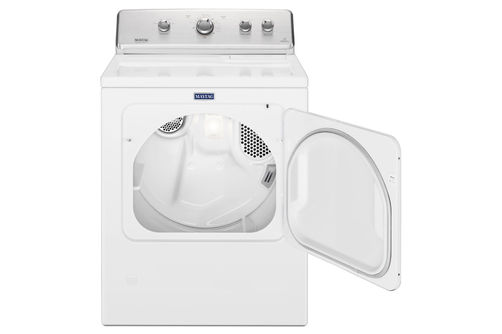 Maytag 7.0 Cu. Ft. Electric Dryer- Open View