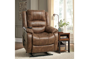 Signature Design by Ashley Yandel Power Recliner- Power Lift