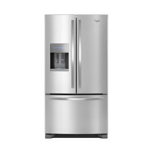 Whirlpool Stainless 25 Cu. Ft. French Door Bottom Mount Refrigerator with Water and Ice Dispenser