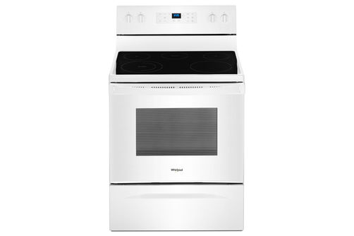 Whirlpool White 5.3 Cu. Ft. Smooth-Top Electric Range