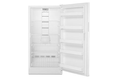 Maytag White 16 Cu. Ft. Upright Freezer- Alternate Open View