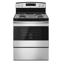 Amana Stainless 4.8 Cu. Ft. Coil Top Electric Range