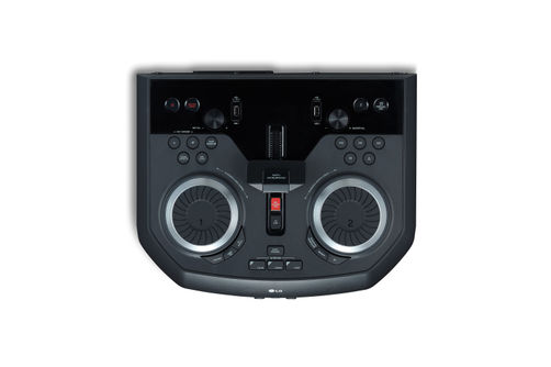 LG 1800W Loudr Party Speaker System- Pro DJ Wheels and Controls