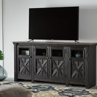 Signature Design by Ashley Tyler Creek TV Stand- Room View