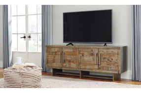 Signature Design by Ashley Mozanburg72 Inch TV Stand- Room View