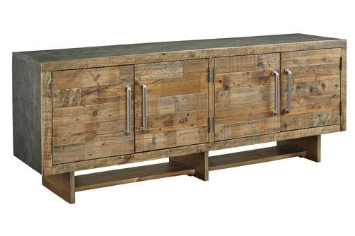 Signature Design by Ashley Mozanburg 72 Inch TV Stand