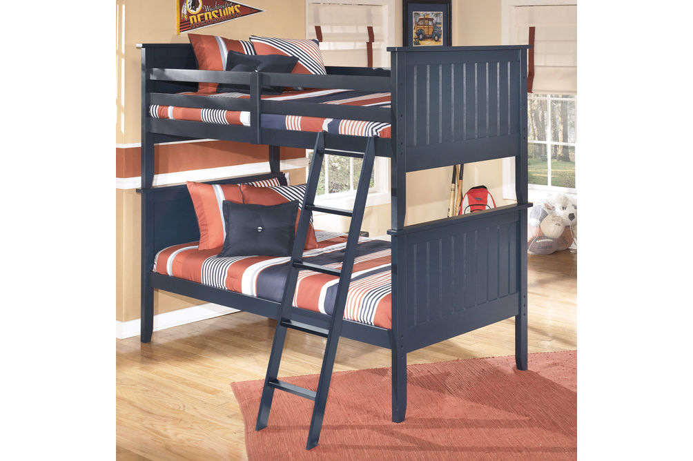 Signature Design by Ashley Leo Twin over Twin Bunk Bed- Room View