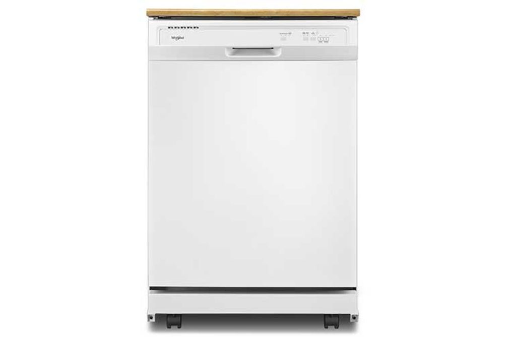 Whirlpool 24 inch White Portable Dishwasher