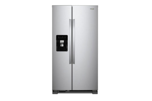 Whirlpool Stainless 21 Cu. Ft. Side-By-Side Refrigerator