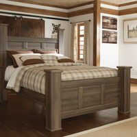 Signature Design by Ashley Juararo 3-Piece Queen Bedroom Set- Room View