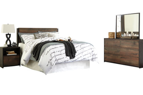Signature Design by Ashley Windlore 4-Piece Queen Bedroom Set