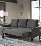 Signature Design by Ashley Jarreau-Gray Sofa Chaise Sleeper- Sleeper View