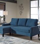 Signature Design by Ashley Jarreau-Blue Sofa Chaise Sleeper-Room View
