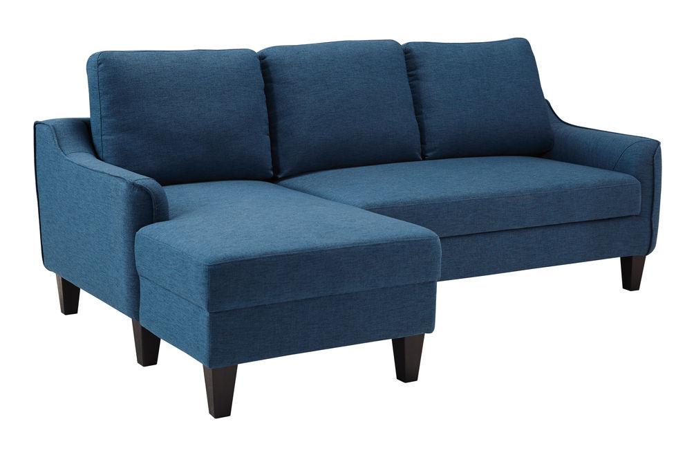 Signature Design by Ashley Jarreau-Blue Sofa Chaise Sleeper