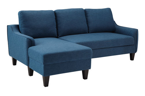 Signature Design by Ashley Jarreau-Blue Sofa Chaise Sleeper