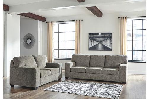 Signature Design by Ashley Termoli-Granite Sofa and Loveseat- Room View