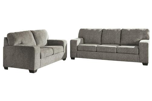 Signature Design by Ashley Termoli-Granite Sofa and Loveseat