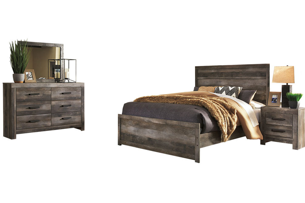Signature Design by Ashley Wynnlow 5-Piece Queen Bedroom Set