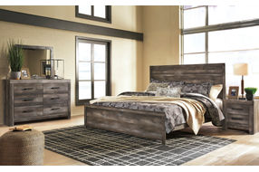 Signature Design by Ashley Wynnlow 5-Piece King Bedroom Set- Room View