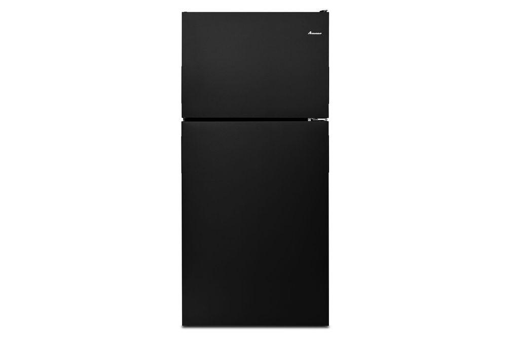 Amana Black 18 Cu. Ft. Top-Freezer Refrigerator