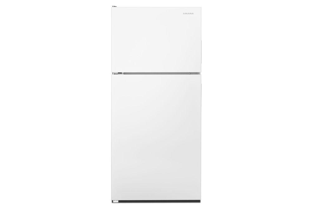 Amana White 18 Cu. Ft. Top-Freezer Refrigerator